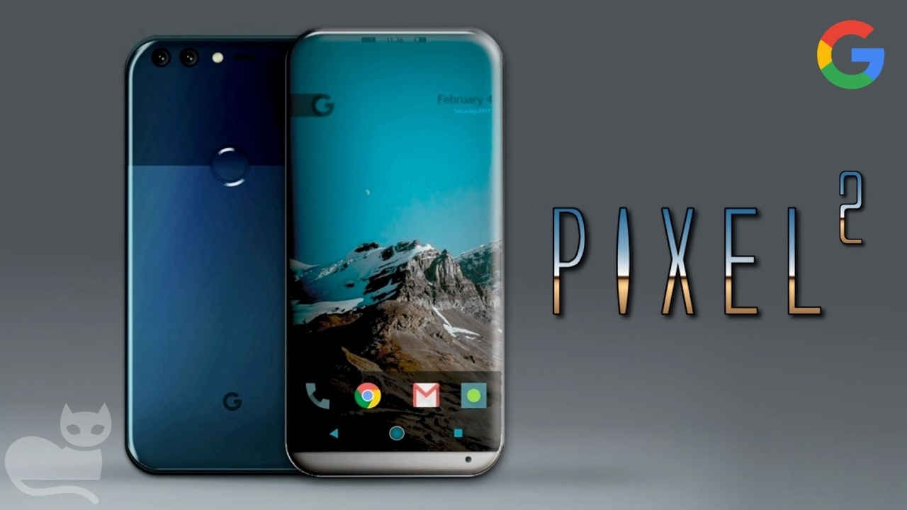 These are the Google Pixel 2 and Pixel 2 XL