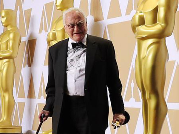 James Ivory becomes oldest-ever Oscar victor
