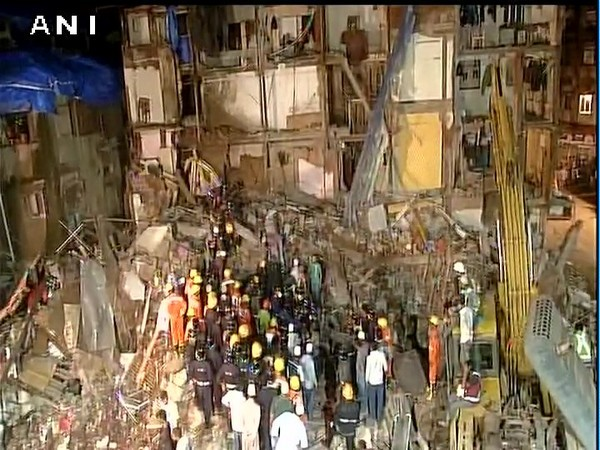 3 dead, over 30 feared trapped as 3-storey building collapses